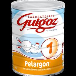 "GUIGOZ 1er âge ""Pelargon"", de 0 à 6 mois, 800g"