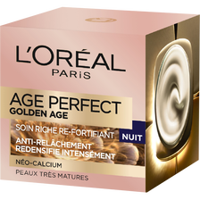 Soin nuit Age Perfect golden age L OREAL, pot de 50ml