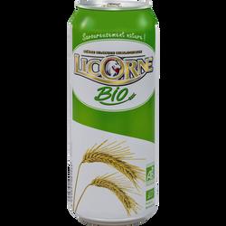 Bière BIO LICORNE, 5°, canette de 50cl