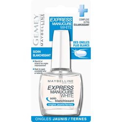Vernis a ongles express manucure white - blister MAYBELLINE