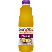 "Jus passion ""fruits gourmands"" U, bouteille de 1l"
