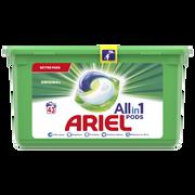 Ariel Lessive Liquide Original Ariel Pods 3 En 1 X43 Dses 1083,6kg