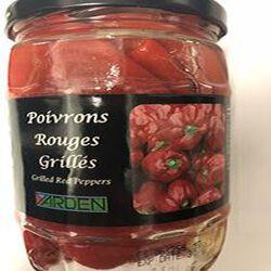 Poivrons Rouges Grillés 540g CASHER