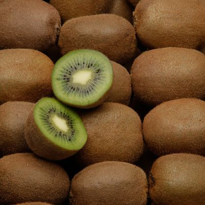 Kiwi Hayward, U BIO, calibre 95/105g, catégorie 2, France, barquette 6fruits