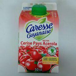CARESSE GUYANAIS NECTAR CERISE 1/2L
