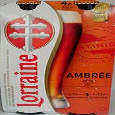 Bière Lorraine Ambré 4X33CL