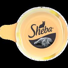 Aliment pour chat Dôme au blanc de poulet SHEBA, 80g