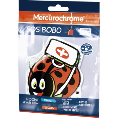 MERCUROCHROME SOS BOBO - Poche chaud / froid
