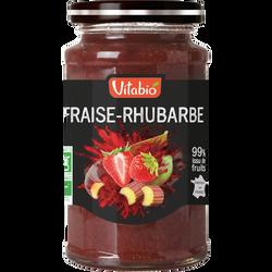 Délice fraise, rhubarbe VITABIO, 290g