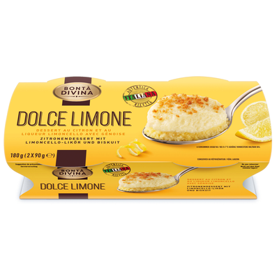 Dessert Dolce Limone BONTA DIVINA, 2x90g