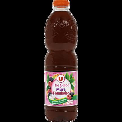 Boisson aux extraits de thé aromatisée saveur mûre framboise 1,5l