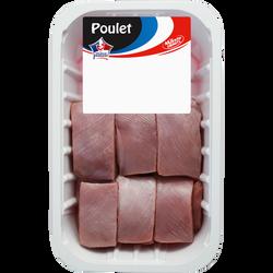 Sauté de dinde sans os sans peau, France, Barquette, 600g