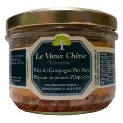 *PATE DE CAMPAGNE PIM.ESPELETTE Vieux Chêne