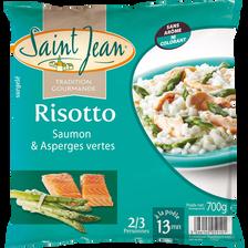 Risotto saumon et asperges vertes SAINT JEAN 700g