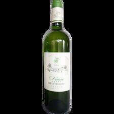 Graves AOC blanc cuvée Chantegrive MDC DIVINE, bouteille de 75cl