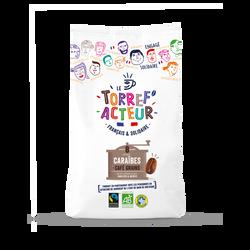 Café en grains origine Caraïbes bio LE TORREF'ACTEUR, 450g