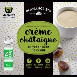 Préparation pour crème gourmande châtaigne bio, PLAISANCE BIO, 40g