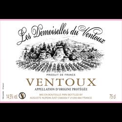 """Vin blanc AOC Côtes du Ventoux """"Les Demoiselles Coiffées"""", 75cl"""