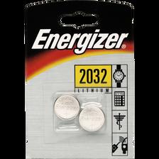 Piles ENERGIZER, mini, CR2032, 2 unités