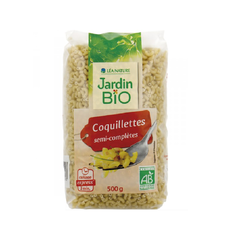 Coquillettes semi-complètes express' 3min JARDIN BIO 500g