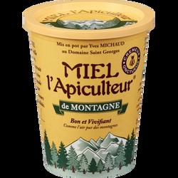 Miel de montagne crémeux MIEL L'APICULTEUR, pot carton, 500g