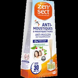 Diffuseur batonnets anti-moustiques ZENSECT, 40ml