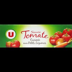 Sauce tomate petits légumes U, tube de 180g