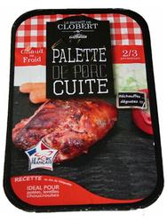 Palette de porc cuite, GIFFAUD, Orignie France, 1 pièce, Barquette, 800g.