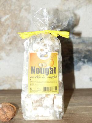 Nougats aux noix du Dauphiné NICONOIX, sachet de 200g