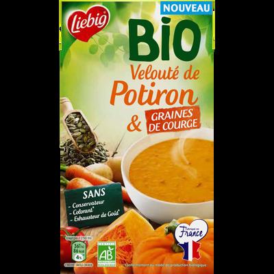 Soupe velouté de potiron et graines de courge bio LIEBIG, 1l