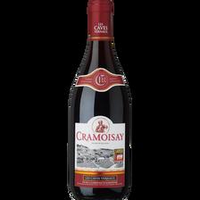 Vin de table CEE CRAMOISY, 12°, bouteille de 75cl