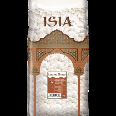 Lingots blancs ISIA, paquet de 2kg
