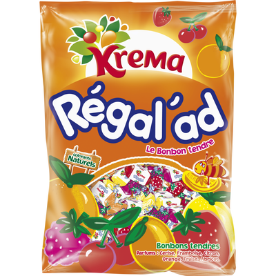 Bonbons tendres Regal'Ad KREMA, 590g