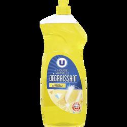 Liquide vaisselle parfum citron U flacon 1,5l
