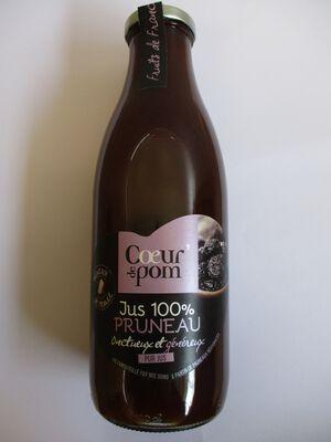 JUS 100% PRUNEAUX COEUR DE POM BOUTEILLE DE 1L