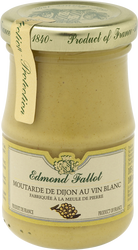 Moutarde de Dijon au vin blanc EDMOND FALLOT, bocal 10 cl