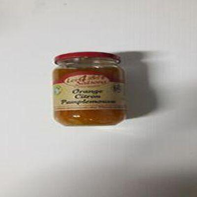 Confiture Orange Citron Pamplemousse Les 4 Saisons 400g