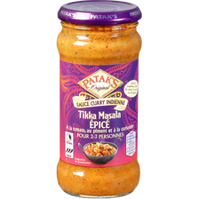Sauce tikka masala hot spicy, PATAK'S, bocal de 350g