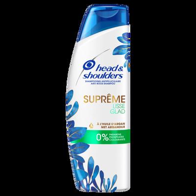 Shampooing suprême lisse 0% paraben, phosphate, colorant HEAD&SHOULDERES 270ml