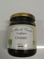 Confiture de Griottes bio Le mas de Vinobre 320g