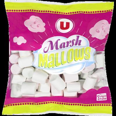 Chamallows Marshmallows U, sachet de 300g