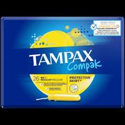 Tampax Tampon Compak Regulier Avec Applicateur Tampax, 2x26