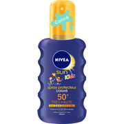 Nivea Spray Solaire Protecteur Coloré Pour Enfants Spf50+ Nivea Sun, Flaconde 200ml