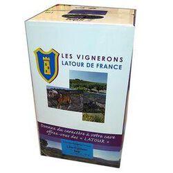 vin rouge IGP, VIGNERONS LATOUR DE FRANCE - BIB de 10L