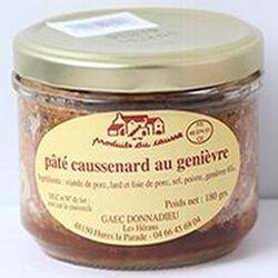 Pâté caussenard au genièvre, Produits du causse, 180g