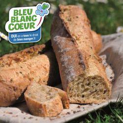 Baguette Bleu Blanc Coeur, 1 pièce, 250 g