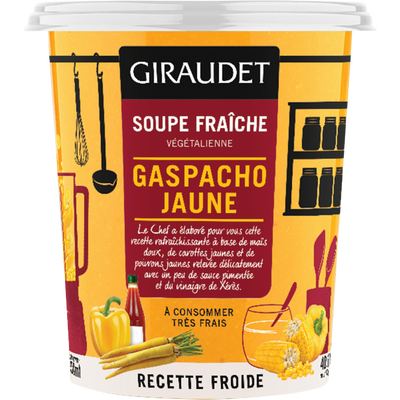 Soupe gaspacho jaune, cup 350ml