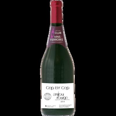Vin rouge CVT d'Anjou AOP Cep by Cep, 75cl