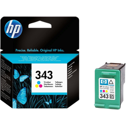 Cartouche d'encre HP pour imprimante, C8766EE couleur n°343, sous blister