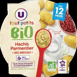 Assiette hachis parmentier Tout Petits Bio U, dès 12 mois, 230g